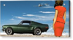 The Rendezvous - 1968 Mustang Fastback Acrylic Print