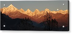 The Rendezvous. A Panorama. Acrylic Print
