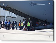 Acrylic Print featuring the photograph The Rescue by Michael Albright