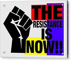 The Resistance Acrylic Print