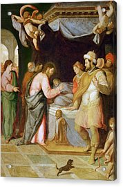 The Resurrection Of The Daughter Of Jairus Acrylic Print
