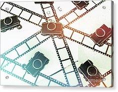 The Retro Camera Reel Acrylic Print