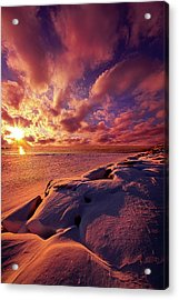 Acrylic Print featuring the photograph The Return by Phil Koch