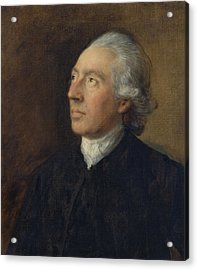 The Rev Humphry Gainsborough Acrylic Print by Thomas Gainsborough