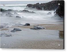 The Revealed Shoreline Acrylic Print