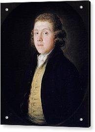 The Reverend Samuel Kilderbee Acrylic Print by Thomas Gainsborough