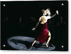 The Rhythm Of Tango Acrylic Print by Richard Young