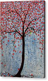 Acrylic Print featuring the painting The Rhythm Tree by Natalie Briney