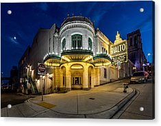 The Rialto Theater - Historic Landmark Acrylic Print