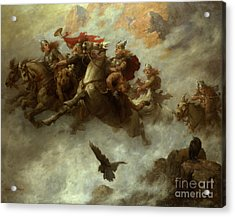 The Ride Of The Valkyries  Acrylic Print