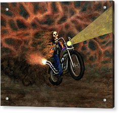 The Ride Out Of Bardo Acrylic Print by Bobby Beausoleil