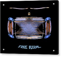 Acrylic Print featuring the digital art The Ride by R Thomas Brass