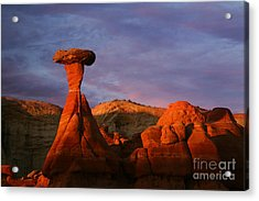 Acrylic Print featuring the photograph The Rim Rocks by Keith Kapple