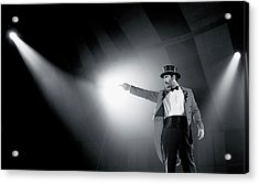 The Ringmaster Acrylic Print by Glennis Siverson