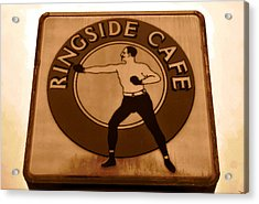 The Ringside Cafe Acrylic Print by David Lee Thompson
