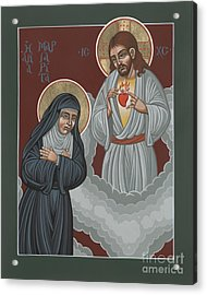 St Margaret Mary And The Sacred Heart 238 Acrylic Print
