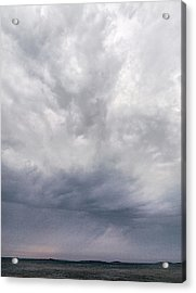 Acrylic Print featuring the photograph The Rising Storm 2 by Jouko Lehto