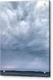 Acrylic Print featuring the photograph The Rising Storm by Jouko Lehto