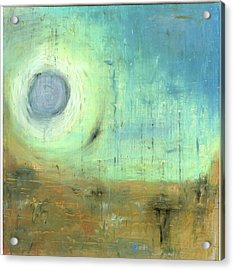 Acrylic Print featuring the painting The Rising Sun by Michal Mitak Mahgerefteh
