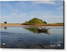 The River Aln Acrylic Print