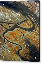 The River Bends IIi Acrylic Print by Elizabeth Hoskinson