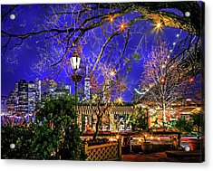 The River Cafe Acrylic Print