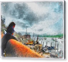 The River Exe Acrylic Print