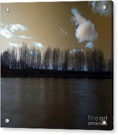 The River Of Dreams Acrylic Print by Angel Ciesniarska