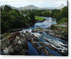 The River Sneem Acrylic Print by Joe Bonita