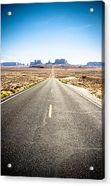 Acrylic Print featuring the photograph The Road Ahead by Jason Smith