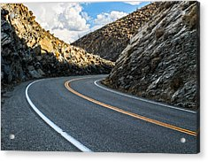The Road Acrylic Print