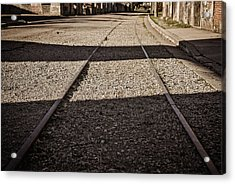 Acrylic Print featuring the photograph The Road by Cendrine Marrouat