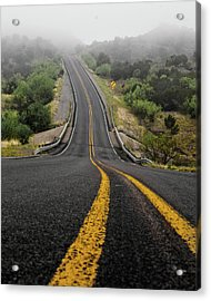 The Road Goes On Forever And The Party Never Ends Acrylic Print