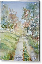 The Road Home Acrylic Print by Dorothy Herron