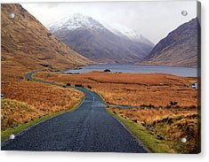 The Road In Acrylic Print