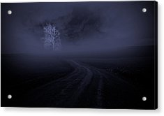 Acrylic Print featuring the photograph The Road by Robert Geary