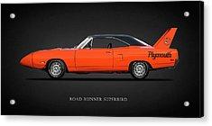 The Road Runner Superbird Acrylic Print