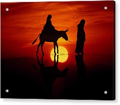 The Road To Bethlehem Acrylic Print