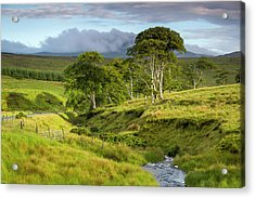 The Road To Carndonagh Acrylic Print