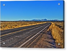 The Road To Flagstaff Acrylic Print