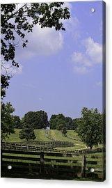The Road To Lynchburg From Appomattox Virginia Acrylic Print by Teresa Mucha