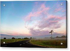 The Road To Morning Acrylic Print by Odille Esmonde-Morgan