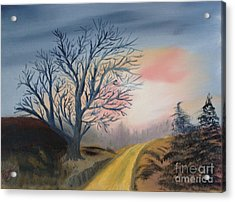 The Road To... Acrylic Print