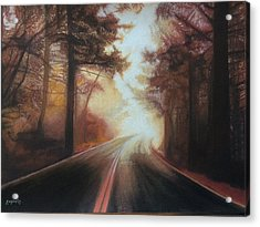 The Road To Somewhere Acrylic Print