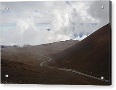 Acrylic Print featuring the photograph The Road To The Snow Goddess by Ryan Manuel
