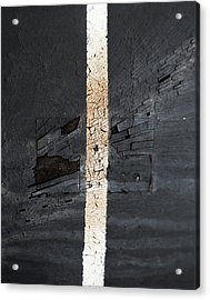 The Roads I Lost Acrylic Print by Jerry Cordeiro