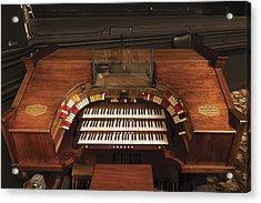 The Robert Morton Organ At The Perot Theatre In Texarkana  Acrylic Print by Carol M Highsmith
