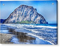 The Rock At Morro Bay Acrylic Print