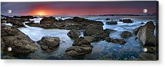 The Rock Labyrinth Acrylic Print
