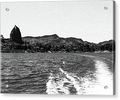 The Rock Of Guatape Acrylic Print